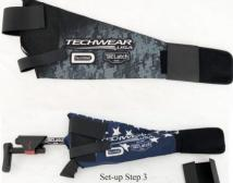 Techwell Scabbard for PCC & Rifle - Scales
